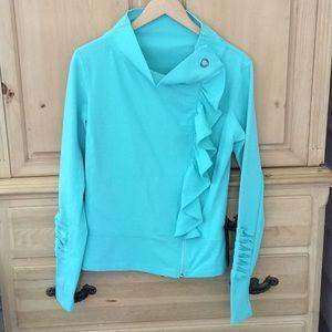 NWT Karma San Suu Seafoam Jacket - Large